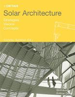 Solar Architecture: Strategies,...