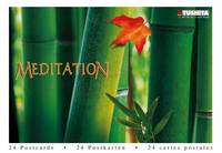 tushita meditations postcard book