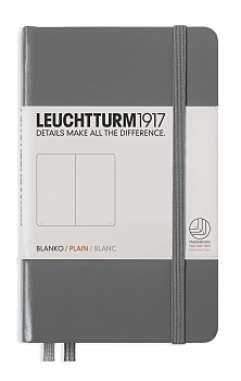 Anthracite Pocket Plain Hardcover...