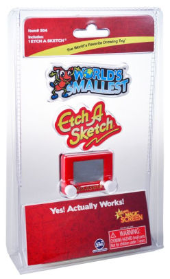 World Smallest Etch a Sketch