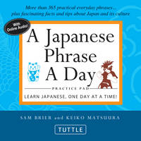 A Japanese phrase a day pad