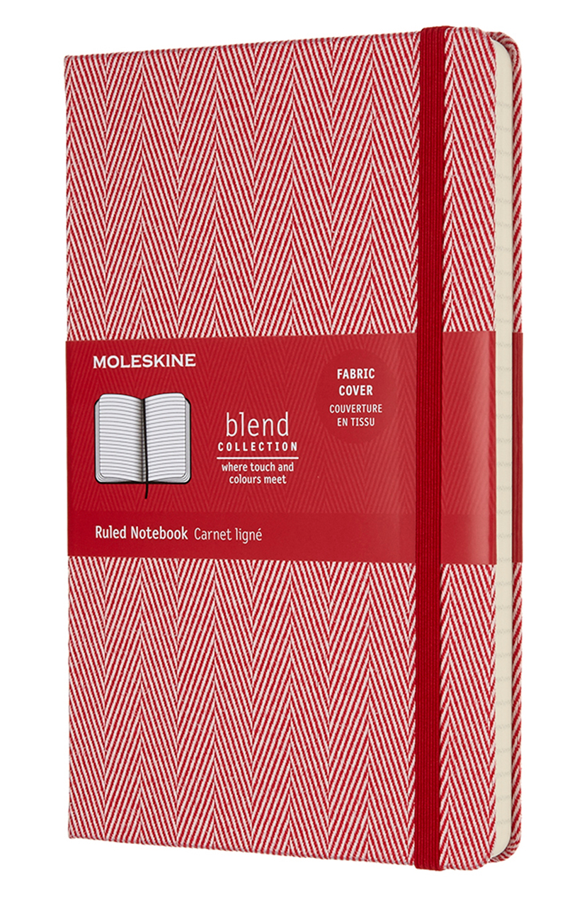 Red Blend Large Ruled Notebook
