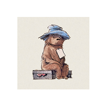 Paddington bear greeting card museums galleries foyles bookstore m4hsunfo