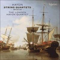 Haydn String Quartets Op 54 55 London...