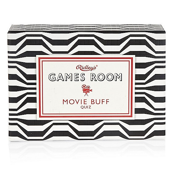 Games Room Movie Buff Quiz