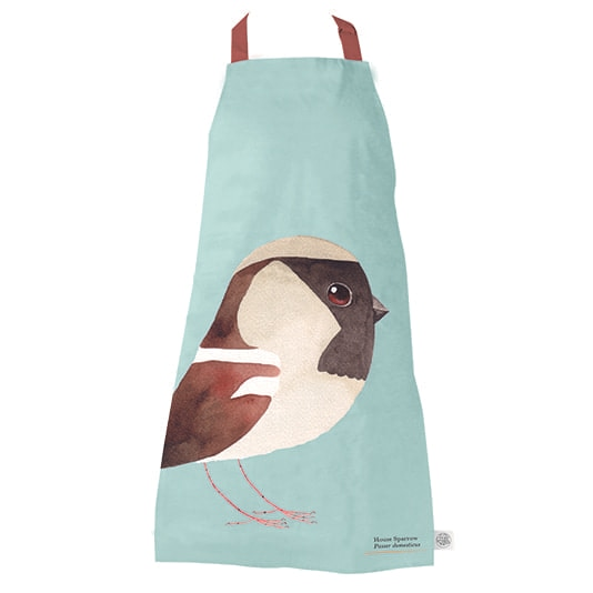 House Sparrow Apron by Matt Sewell
