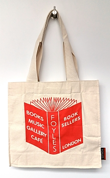 Foyles Eco Cotton Red Book Tote Bags