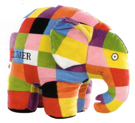Elmer large toy