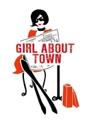 Girl About Town Note Card