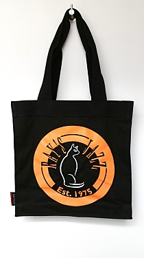 Ray's Jazz Black Tote Bag