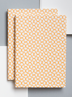 Cadmium Yellow Curve Print Notebook