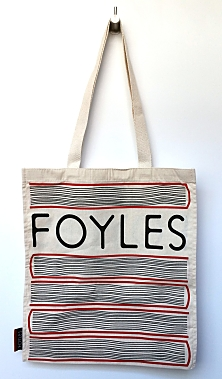 Book Stacks Foyles Tote Bag
