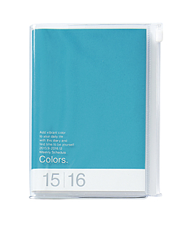 Turquoise A6 Colors Weekly16 Month...