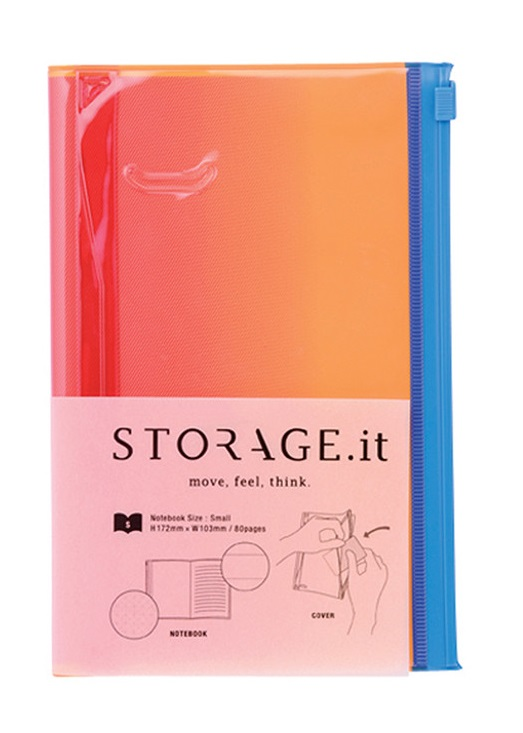 STORAGE.it Slim Pink Gradation Notebook