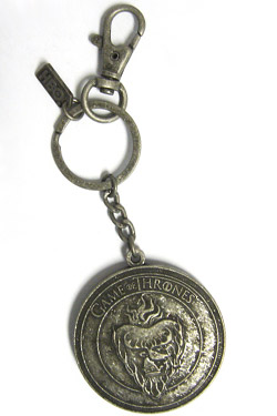 Game of Thrones Keychain Stannis Shield