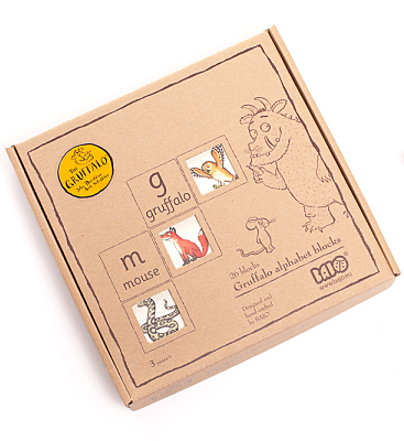 Gruffalo Alphabet Wooden Blocks
