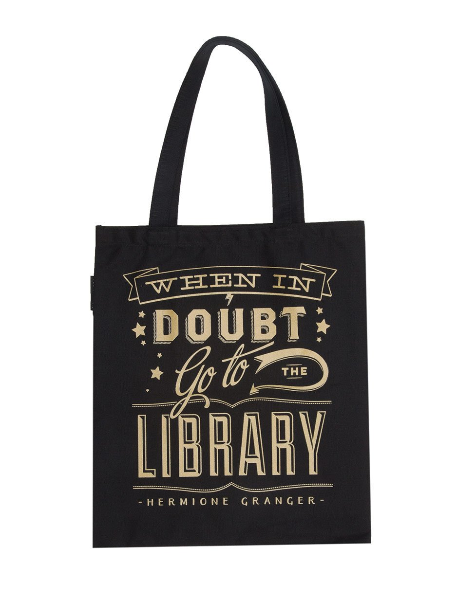 When In Doubt Hermione Tote Bag