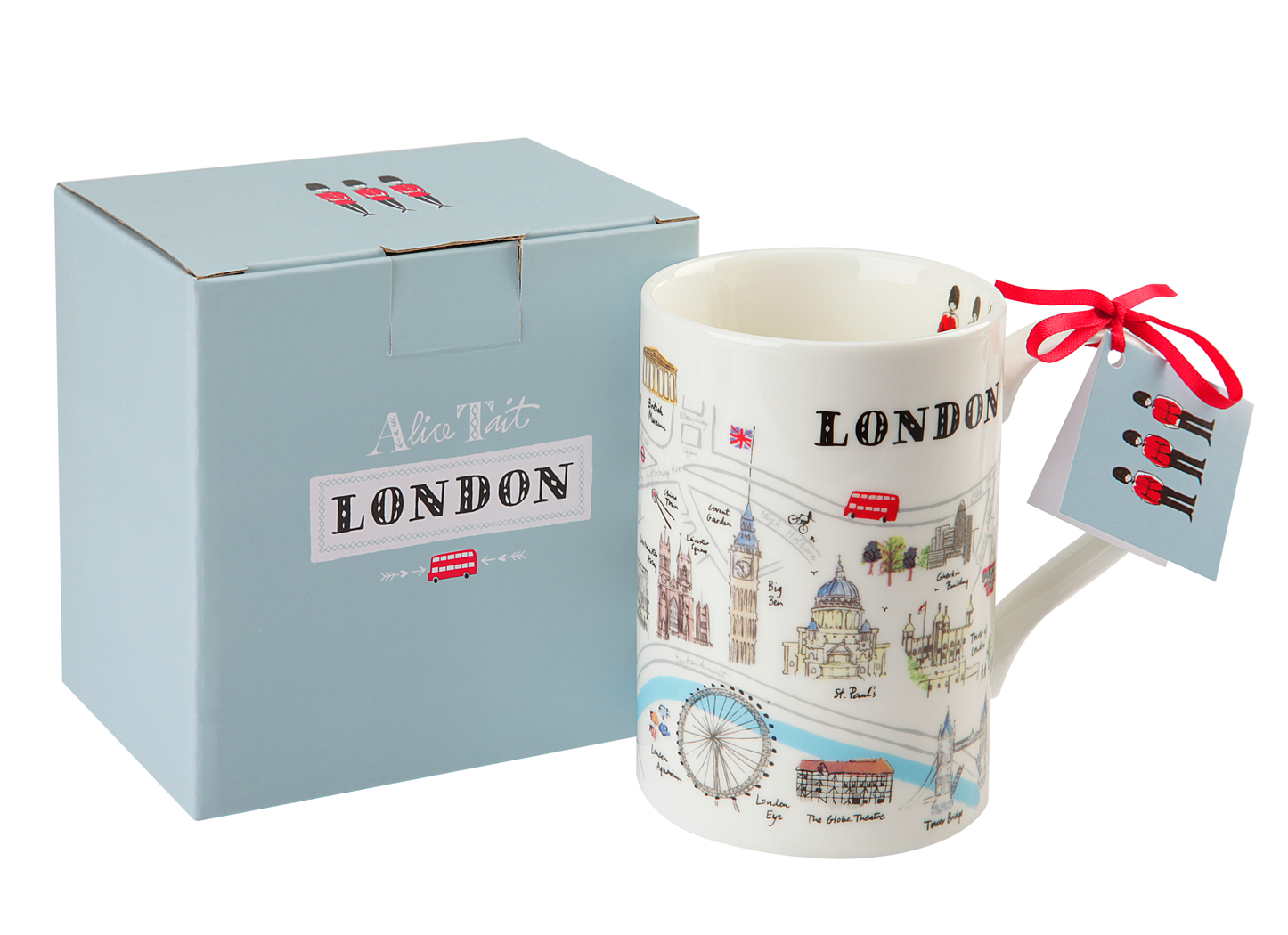 Alice Tait Map Of London Mug