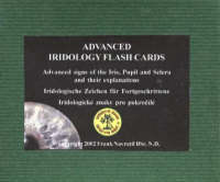Advanced Iridology Flash Cards: Advanced Signs of the Iris, Pupil and Sclera and Their Explanations