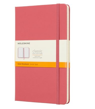 Daisy Pink Pocket Ruled Notebook