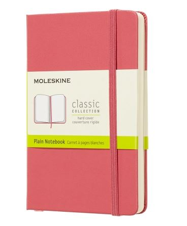 Daisy Pink Pocket Plain Notebook
