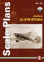 Scale Plans No. 54: Ju 87 B Stuka 1/24