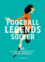 Soccer Legends: 20 Postcards Book