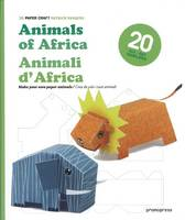 3D Paper Craft: Animals of Africa