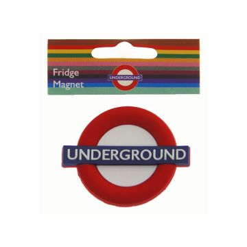 Rubber Fridge Magnet Underground