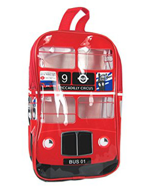 London Bus Back Pack For Kids