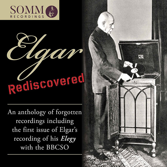 Elgar Rediscovered Elegy 1933 Recording