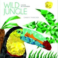 Wild Jungle: Color by Numbers