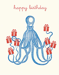 Octopus with Presents