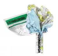 Edinburgh Crumpled City Map