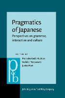 Pragmatics of Japanese: Perspectives...