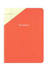 Compat Daily Organiser - Coral Red