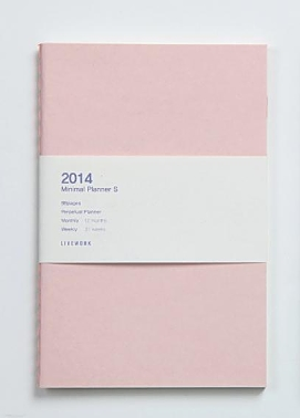Minimal Planner Small - Pink