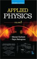 Applied Physics, Volume 1