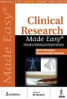 Clinical Research Made Easy: A Guide...