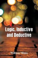Logic, Inductive and Deductive