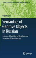 Semantics of Genitive Objects in...