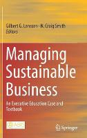Managing Sustainable Business: An...