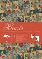 Hearts: Gift Wrapping Paper Book Vol. 19