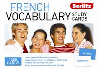 Berlitz French vocabulary study cards
