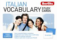 Berlitz Italian vocabulary study cards