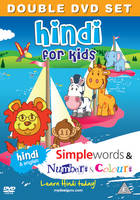 Hindi for Kids DVD Set: Simple Words ...