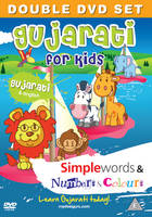 Gujarati for Kids DVD Set: Simple...