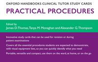 Oxford Handbooks Clinical Tutor Study Cards: Procedures