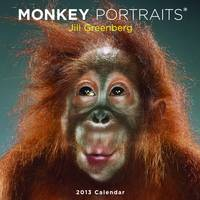 Monkey Portraits Calendar