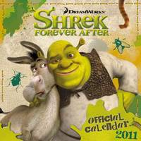 The Official Shrek 4 2011 Square Calendar